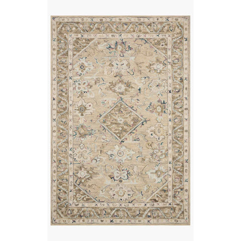 Beatty Rugs by Loloi - BEA-02 - Beige / Ivory