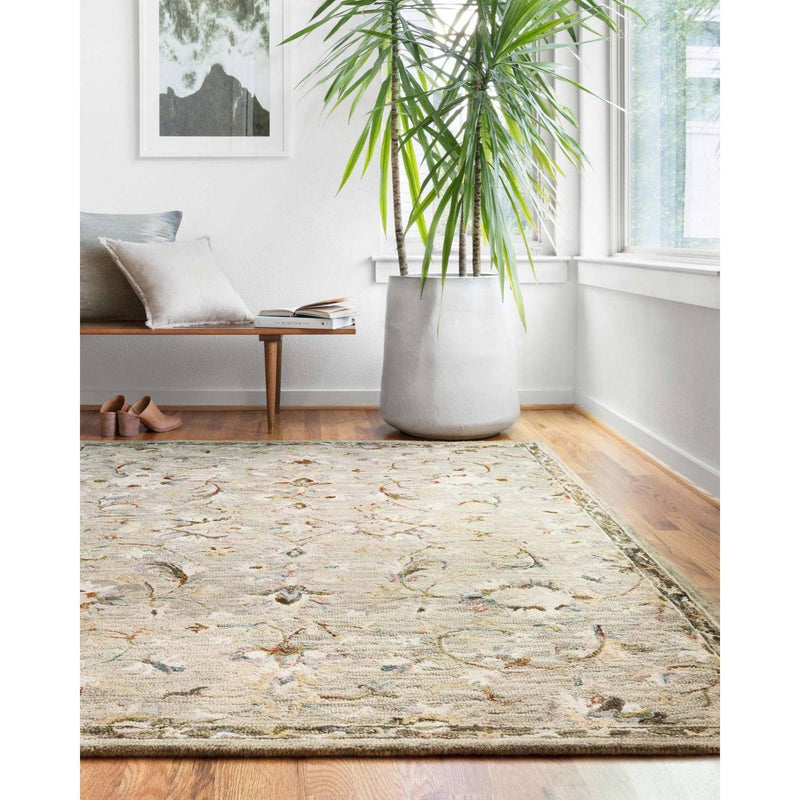 Beatty Rugs by Loloi - BEA-03 - Grey / Multi-Loloi Rugs-Blue Hand Home