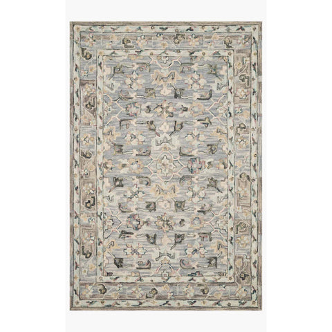 Beatty Rugs by Loloi - BEA-04 - Light Blue / Multi
