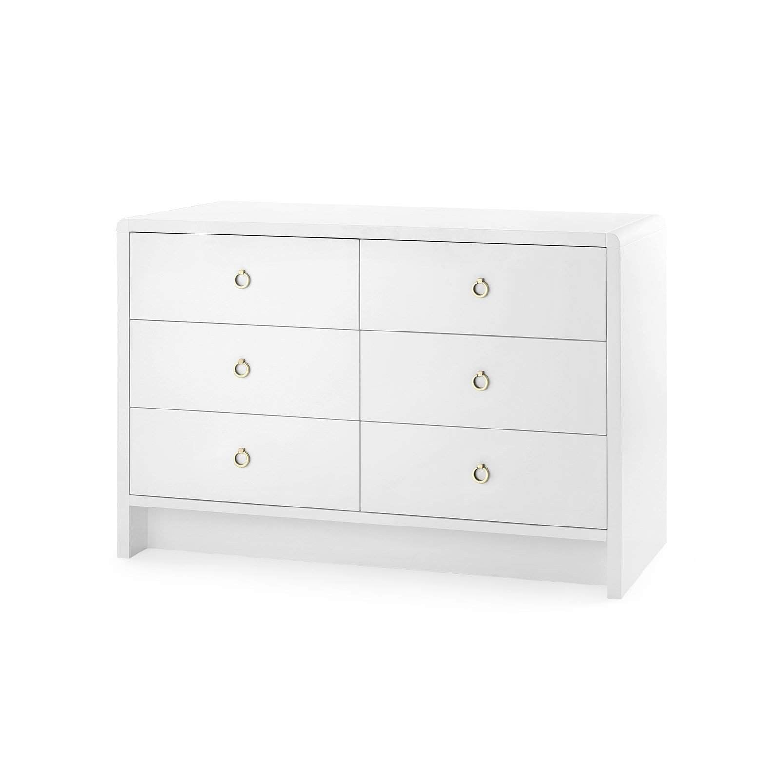 Bungalow 5 - BRYANT EXTRA LARGE 6-DRAWER in WHITE