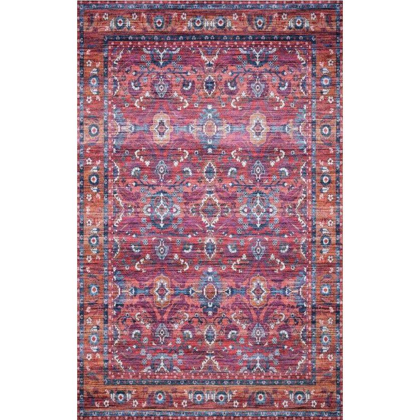 Justina Blakeney Rugs - Cielo - CIE-08 Berry/Tangerine-Loloi Rugs-Blue Hand Home
