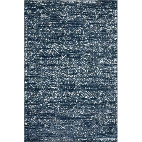 Joanna Gaines Lotus Rug Collection - Blue/Cream