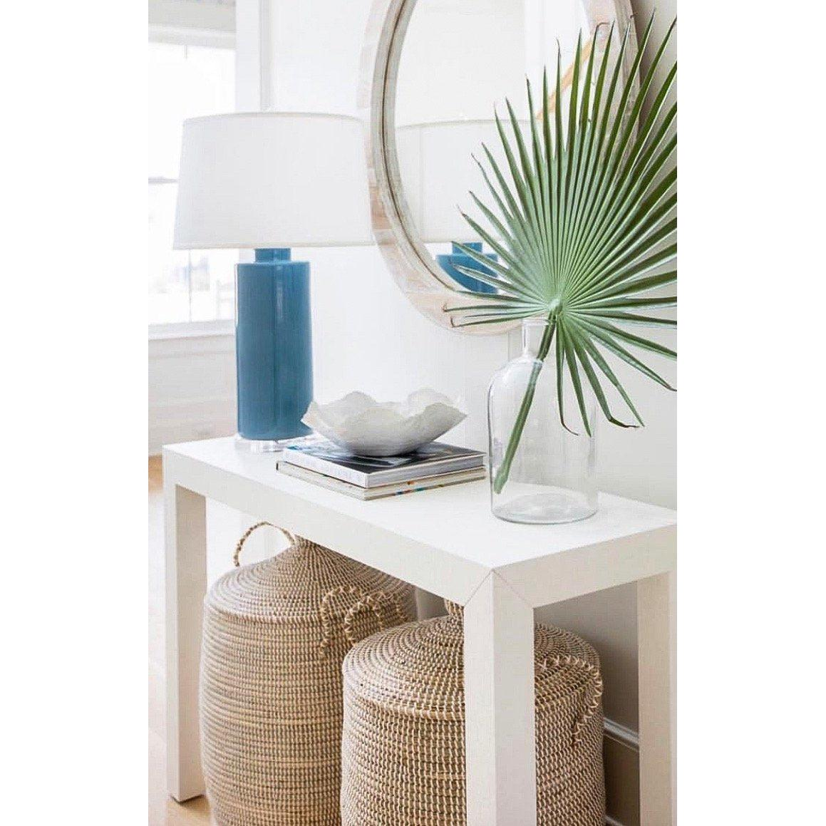 Bungalow 5 - PARSONS CONSOLE TABLE in WHITE-Bungalow 5-Blue Hand Home