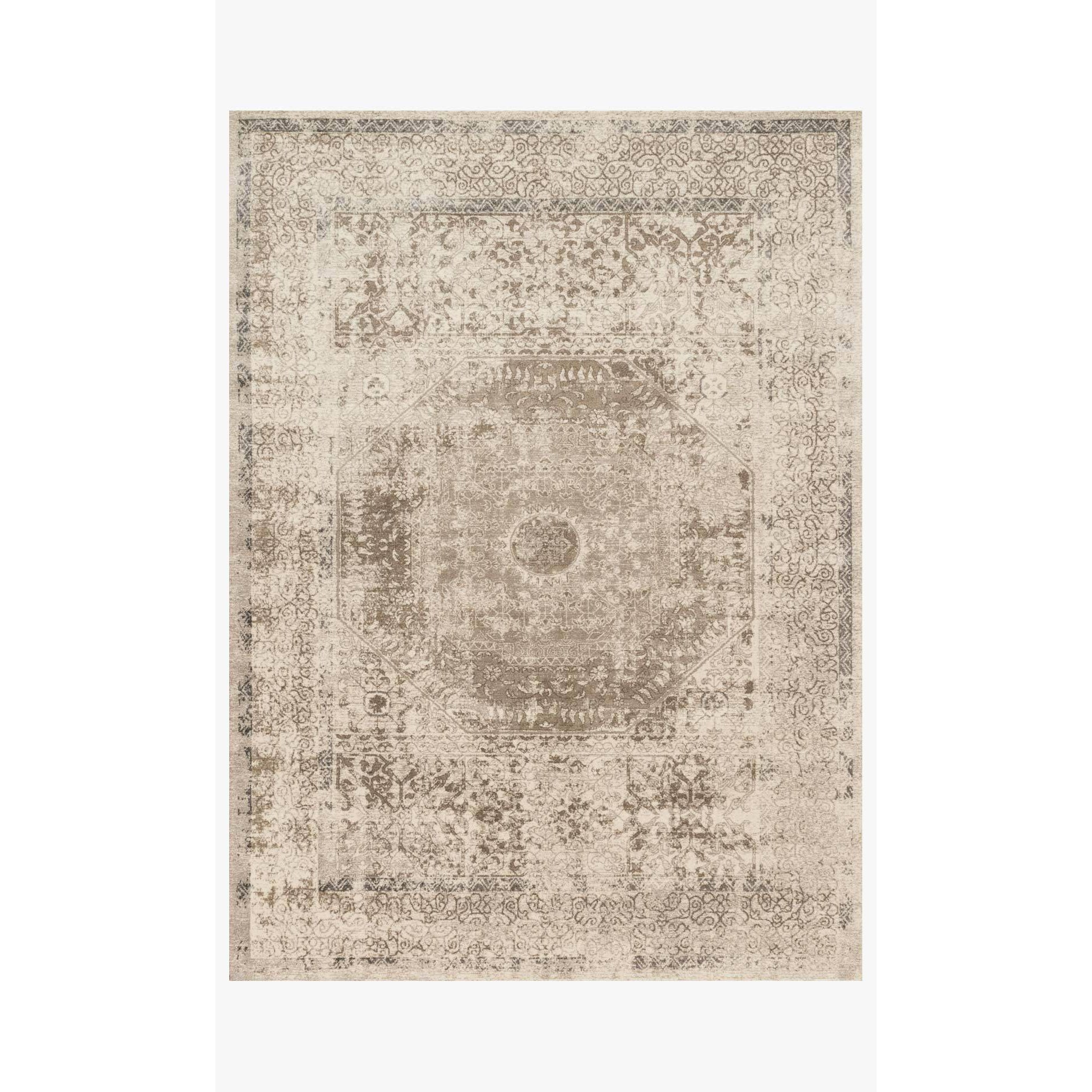 Century Rug by Loloi Rugs - CQ-01 - Taupe / Sand