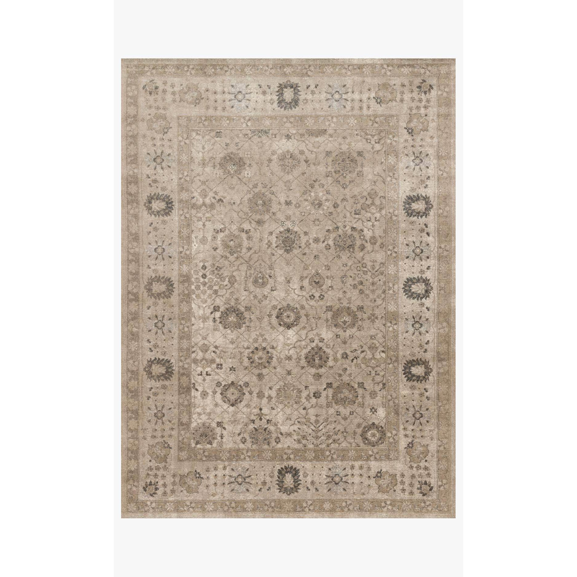 Century Rug by Loloi Rugs - CQ-02 - Taupe / Taupe