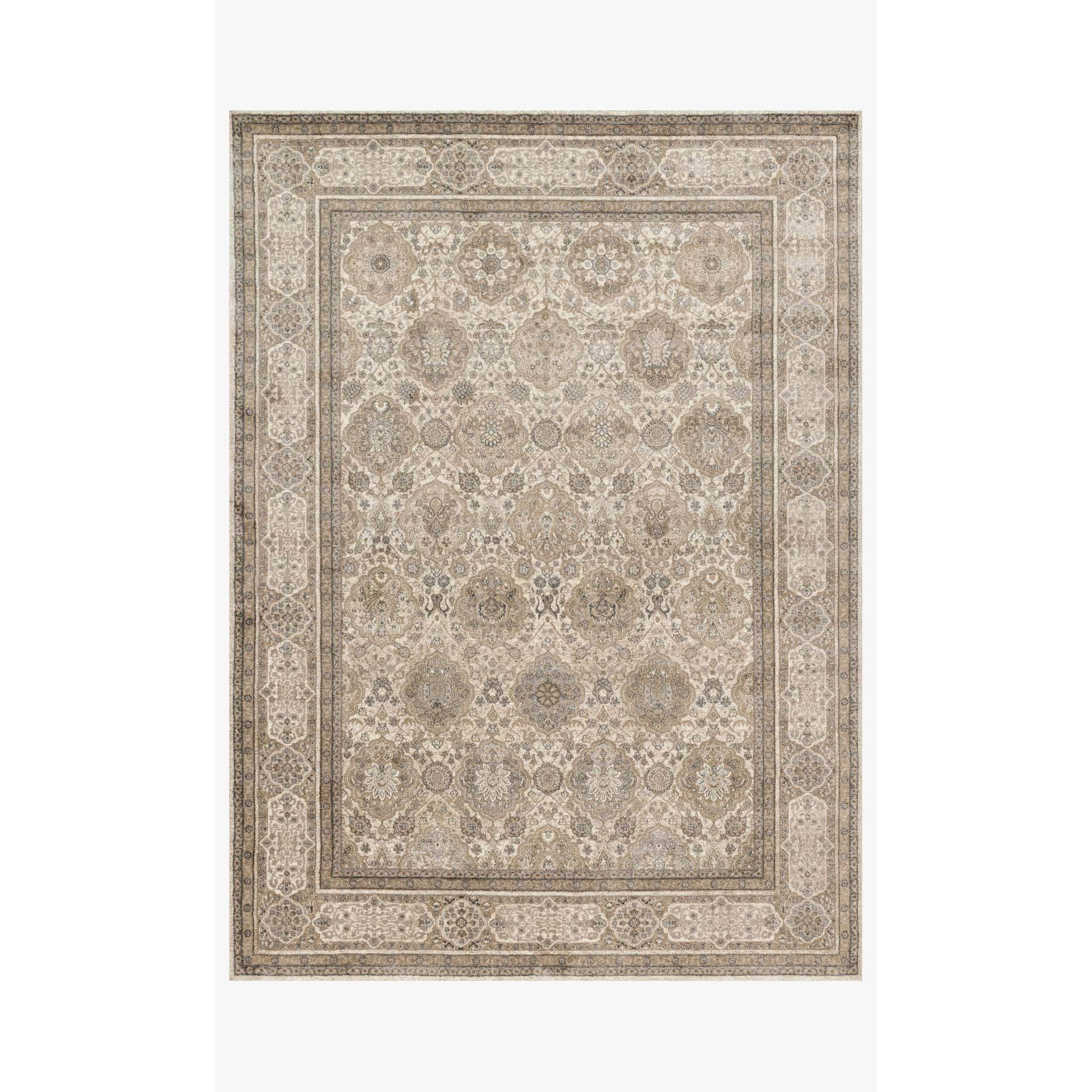 Century Rug by Loloi Rugs - CQ-05 - Sand / Taupe