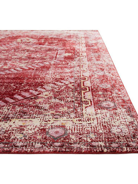 Jaipur Ceres Collection  - Persian Red and Cashmere Rose