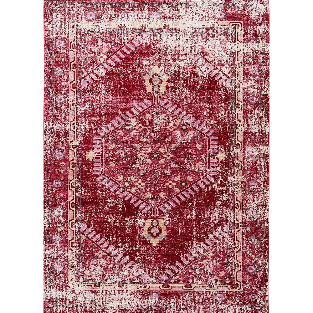 Jaipur Ceres Collection - Persian Red and Cashmere Rose-Jaipur Living-Blue Hand Home
