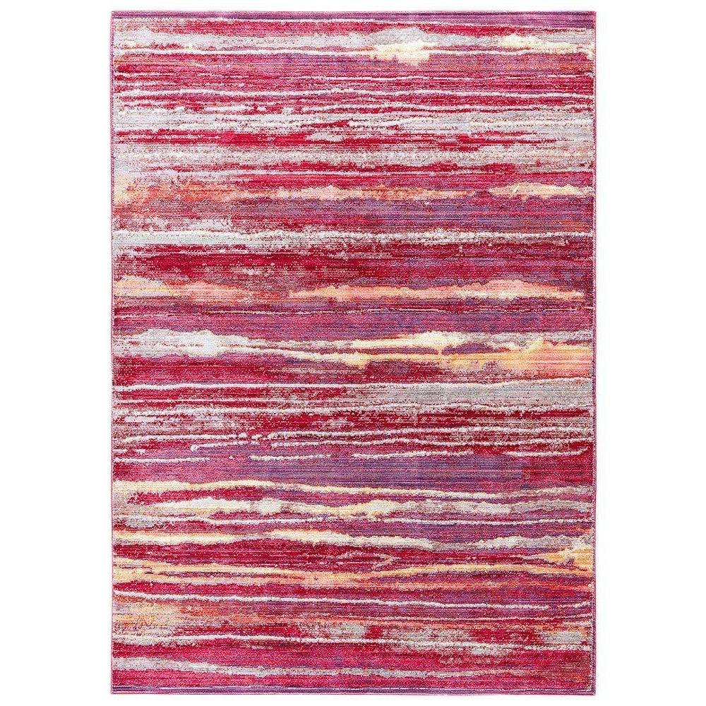 Jaipur Ceres Collection - Raspberry Wine and Straw-Jaipur Living-Blue Hand Home