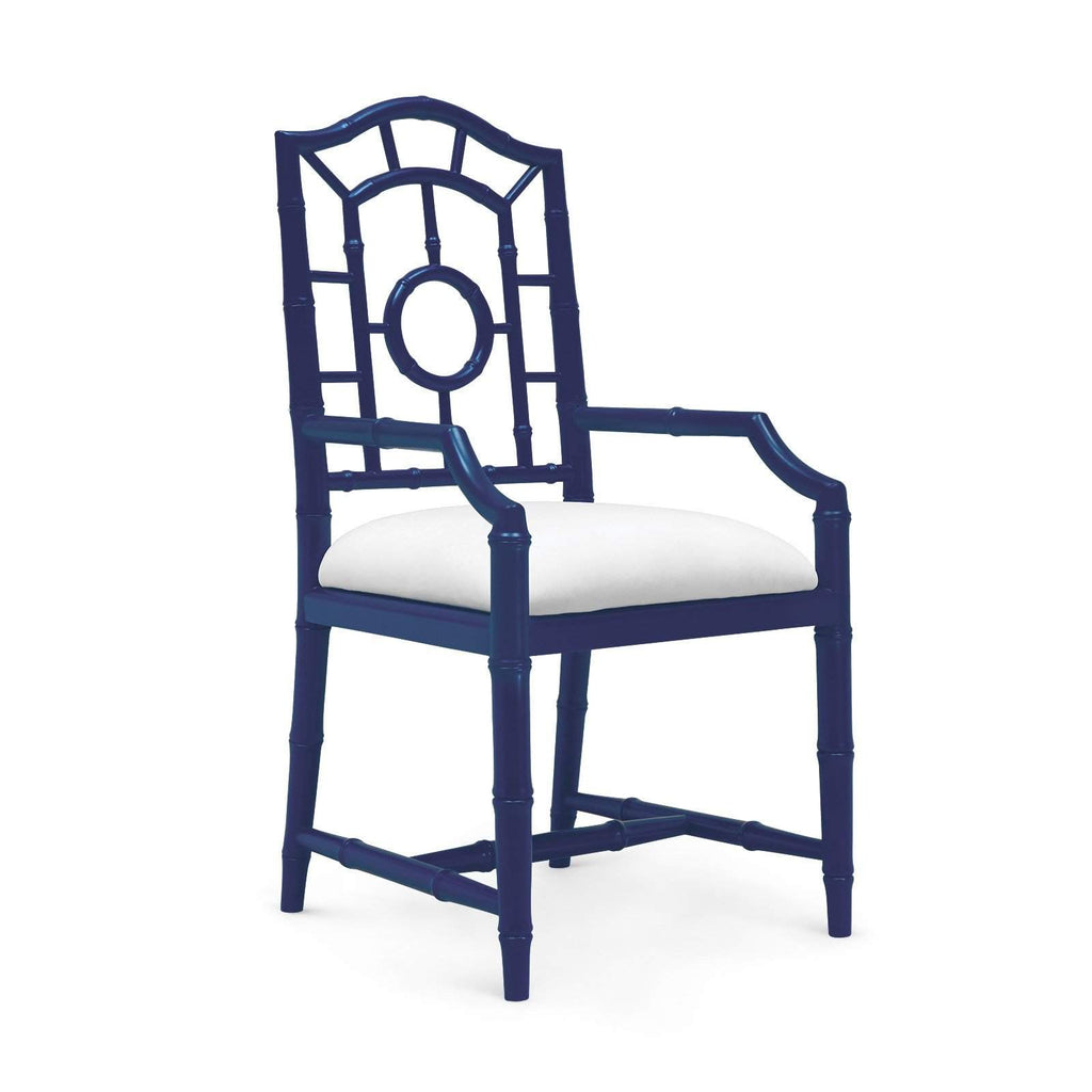 Bungalow 5 - CHLOE ARMCHAIR in NAVY BLUE-Bungalow 5-Blue Hand Home