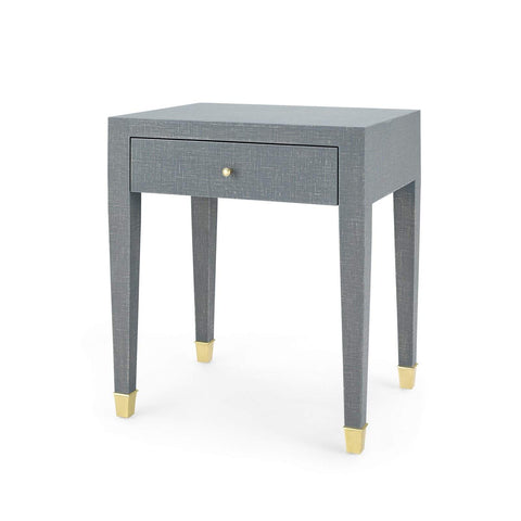 Bungalow 5 - CLAUDETTE 1-DRAWER SIDE TABLE in GRAY - Blue Hand Home