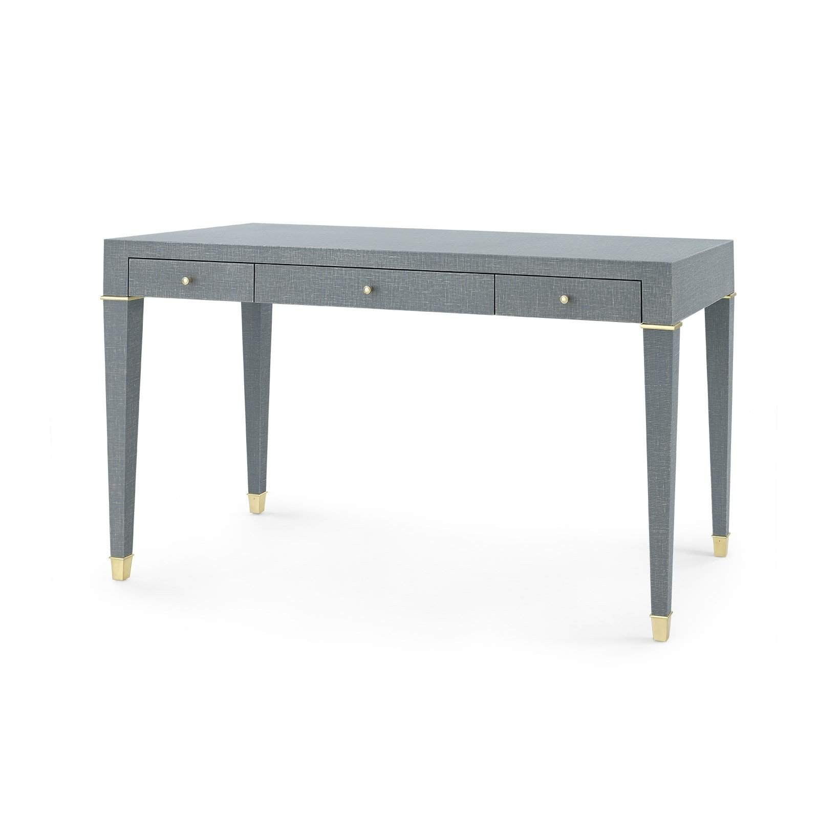 Bungalow 5 - CLAUDETTE DESK in GRAY-Bungalow 5-Blue Hand Home