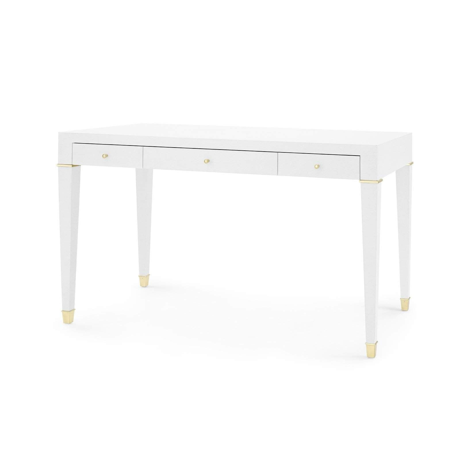 Bungalow 5 - CLAUDETTE DESK in WHITE-Bungalow 5-Blue Hand Home