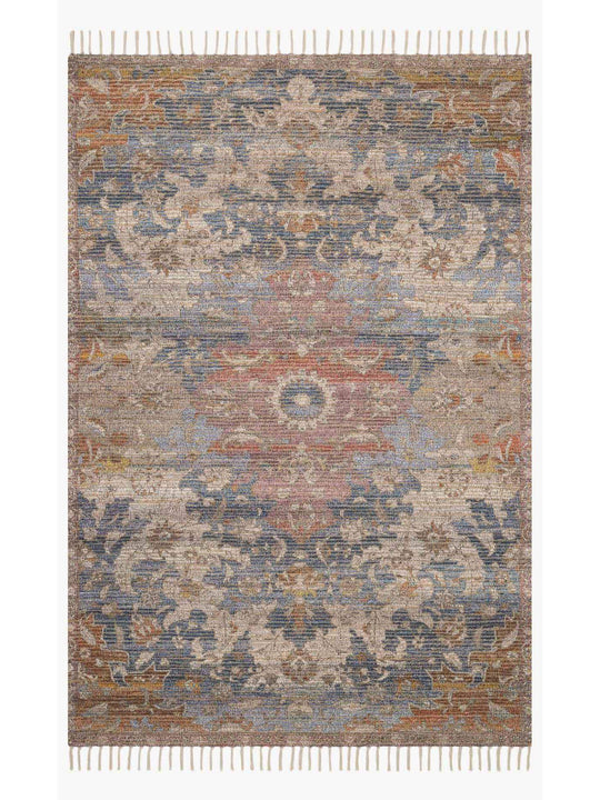 Justina Blakeney Rugs - Cornelia - Cor-06 Denim/Multi