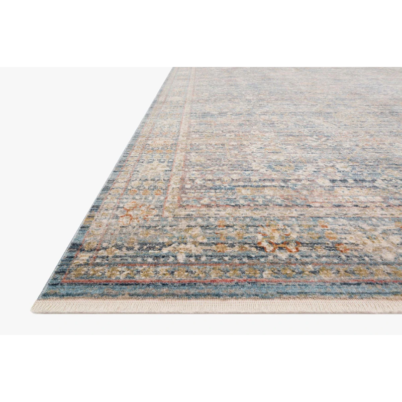 Claire Rugs by Loloi - CLE-06 Blue/Sunset-Loloi Rugs-Blue Hand Home