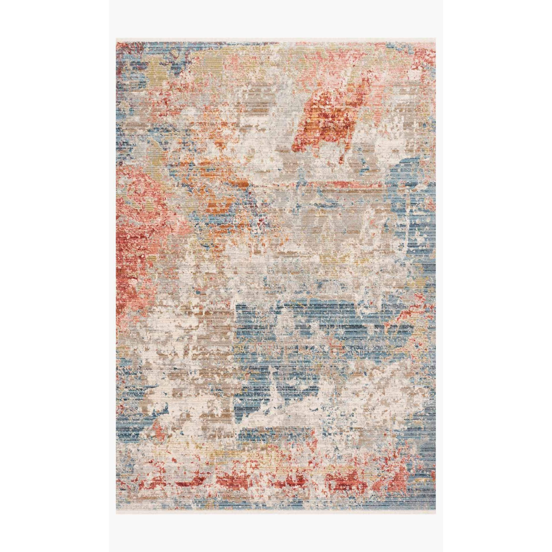 Claire Rugs by Loloi - CLE-07 Grey/Multi-Loloi Rugs-Blue Hand Home