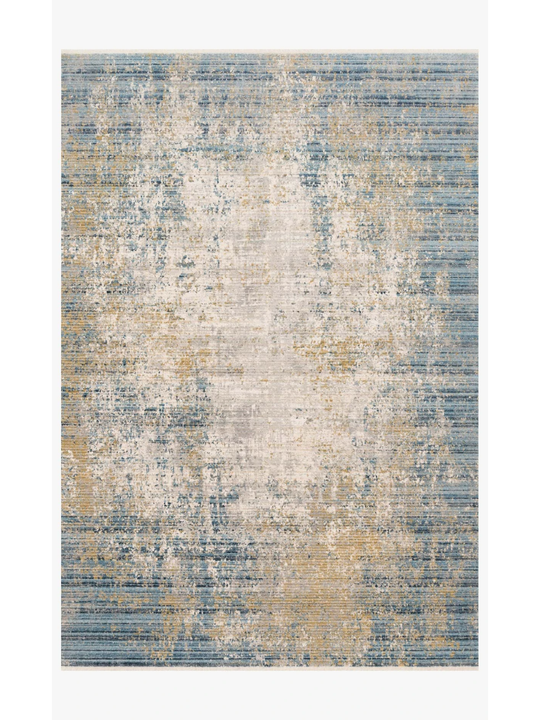 Claire Rugs by Loloi - CLE-08 Neutral/Sea