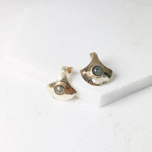 Cleo Earrings-Joya-Blue Hand Home