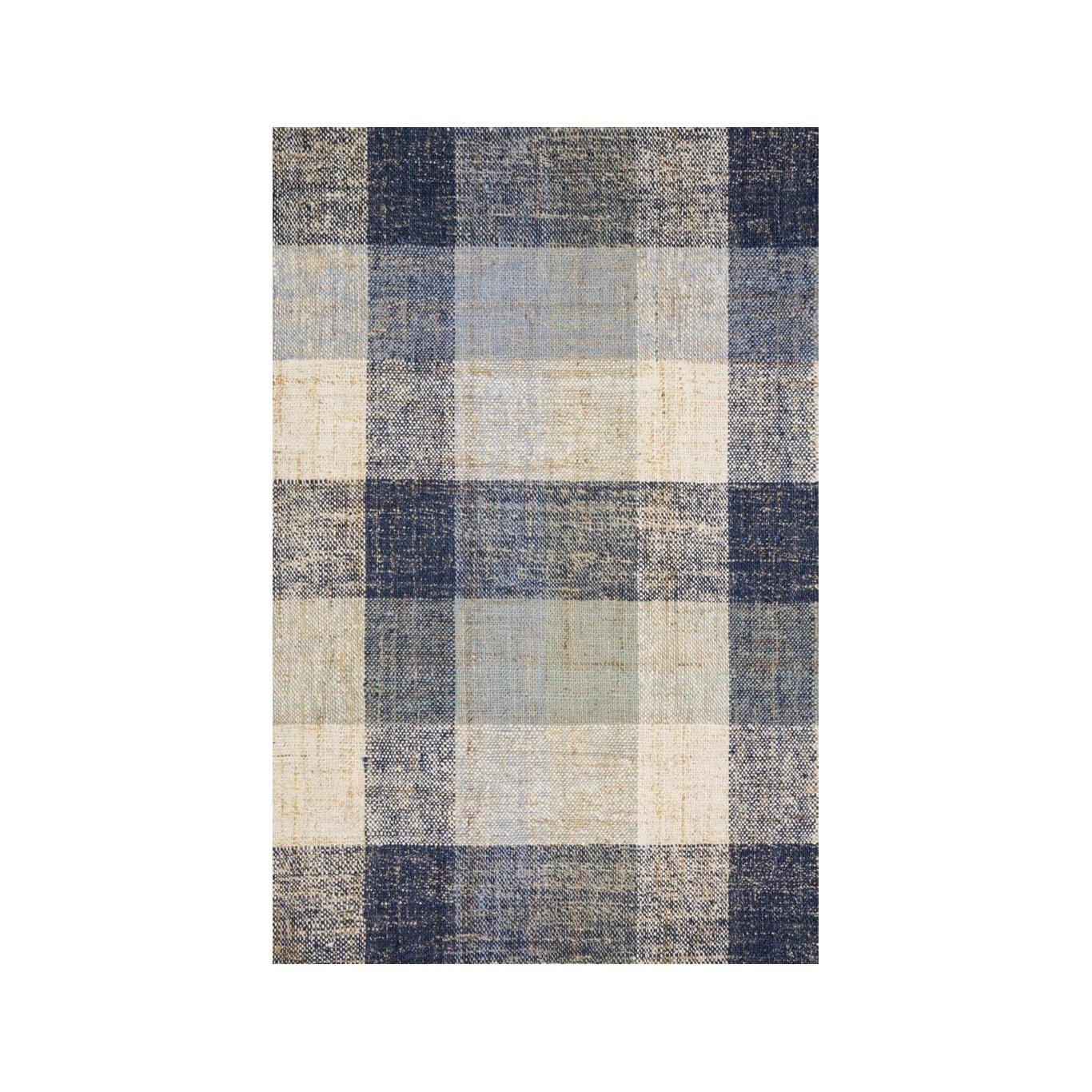 Joanna Gaines Crew Rug Collection - CRE-03 Blue/Multi-Loloi Rugs-Blue Hand Home