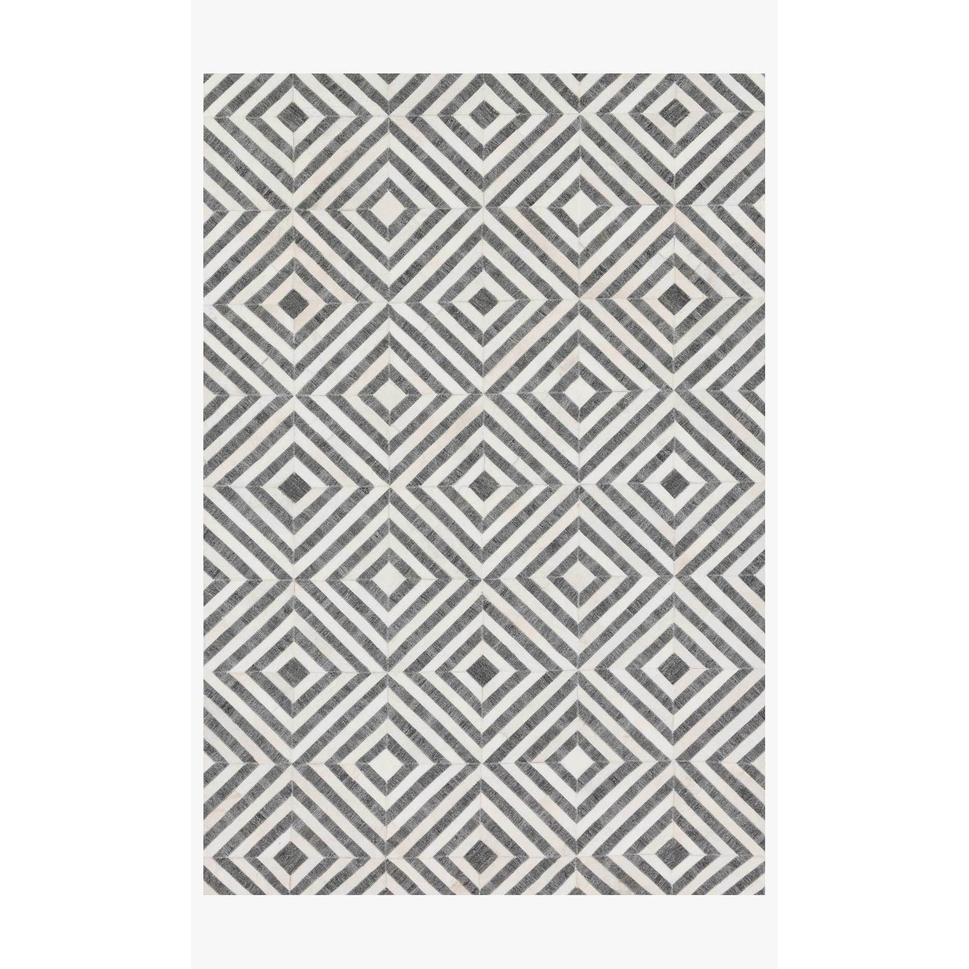 Dorado Rugs by Loloi - DB-03 - Charcoal / Ivory-Loloi Rugs-Blue Hand Home