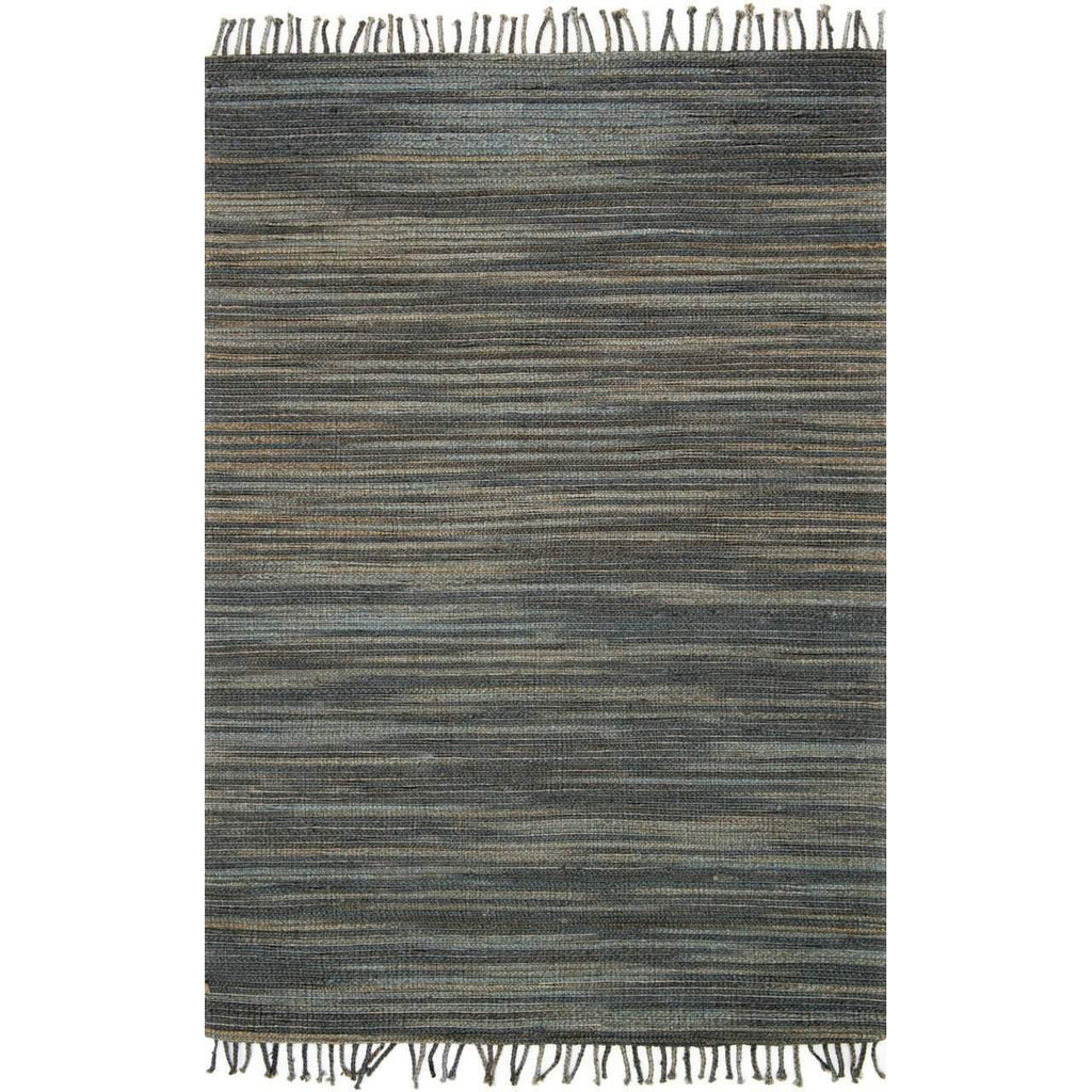 Joanna Gaines Rugs of Magnolia Home Rug Collection - Drake Collection - Storm - Blue Hand Home