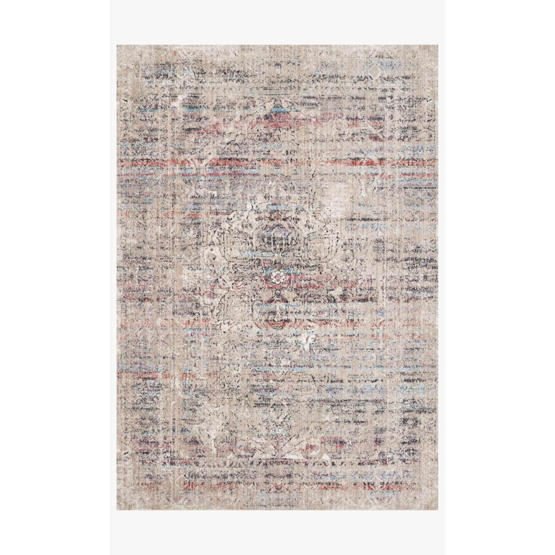 Dante Rugs by Loloi - DN-02 Beige / Multi-Loloi Rugs-Blue Hand Home