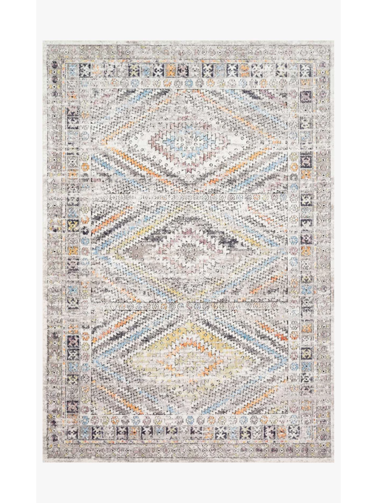 Dante Rugs by Loloi - DN-01 Ivory / Multi