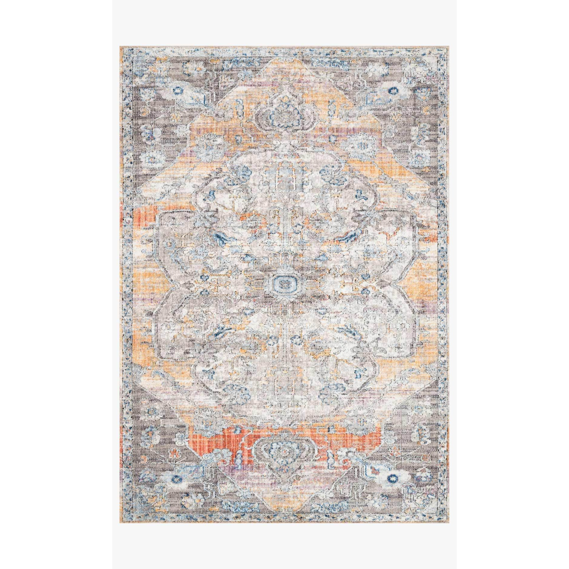 Dante Rugs by Loloi - DN-06 Natural / Sunrise-Loloi Rugs-Blue Hand Home