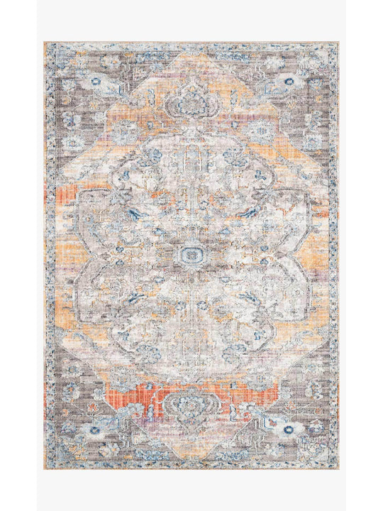 Dante Rugs by Loloi - DN-06 Natural / Sunrise