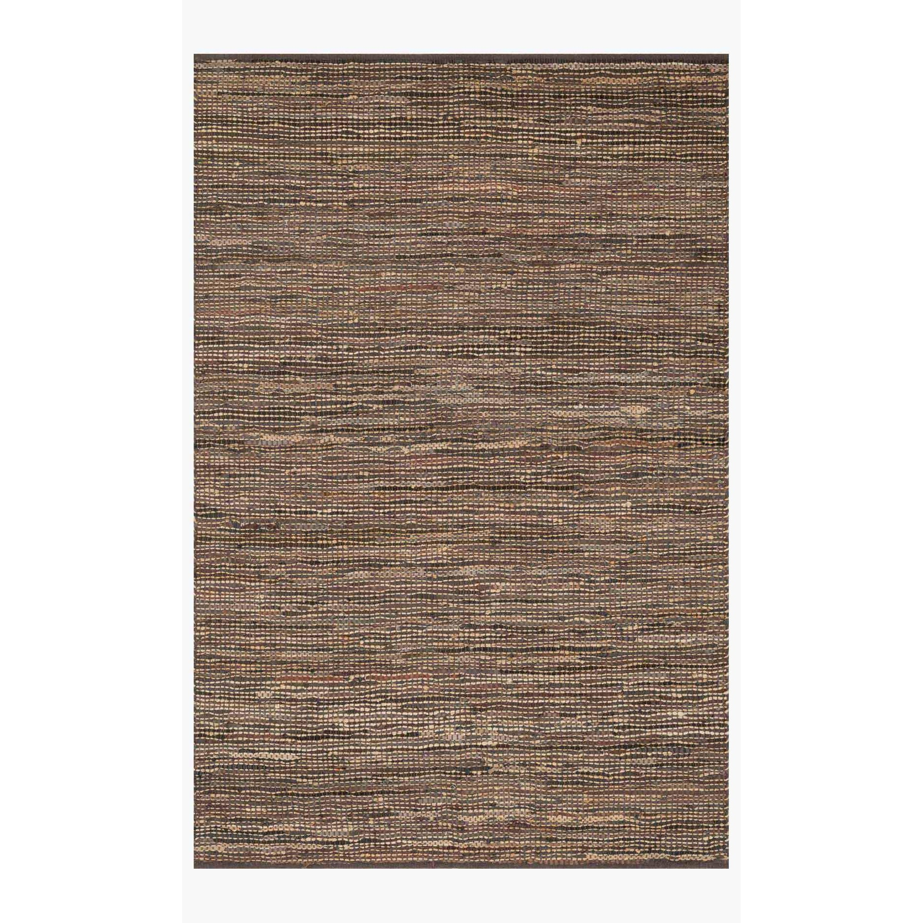 Edge Rug by Loloi Rugs - ED-01 - Brown-Loloi Rugs-Blue Hand Home