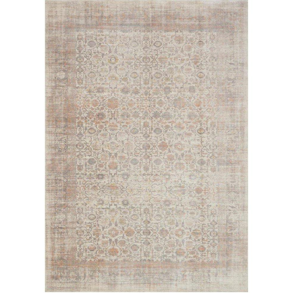 Joanna Gaines Magnolia Home Rug - Ella Rose Collection - Bone / Multi-Loloi Rugs-Blue Hand Home