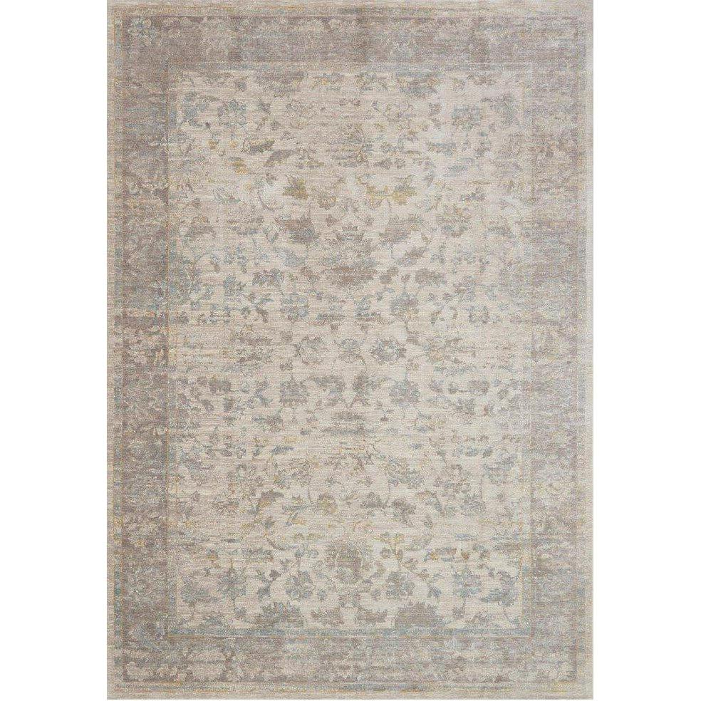 Joanna Gaines Magnolia Home Rug - Ella Rose Collection - Bone / Stone-Loloi Rugs-Blue Hand Home