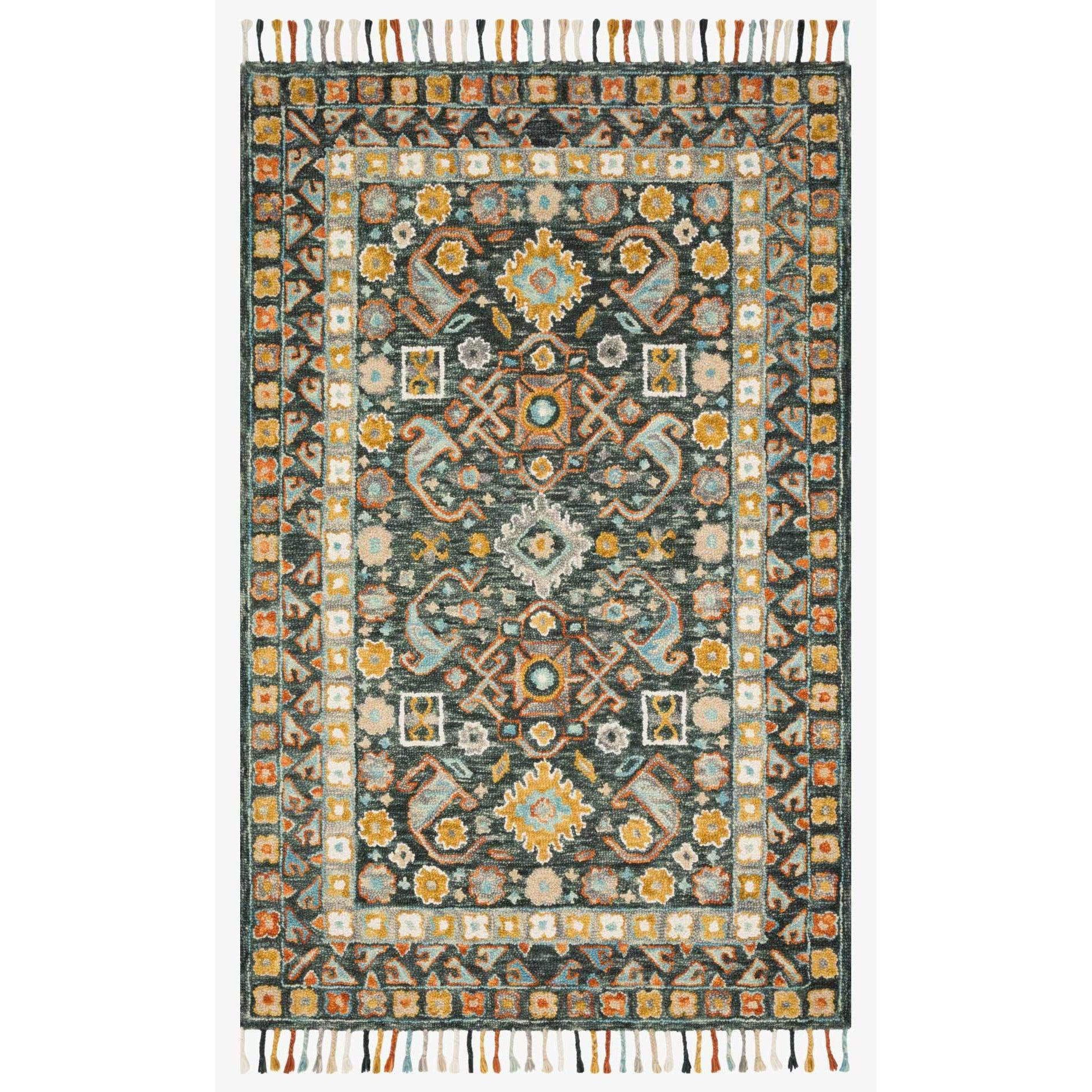 Elka Rug by Loloi Rugs - ELK-03 - Denim / Multi