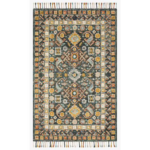 Elka Rugs by Loloi - ELK-03 - Denim / Multi