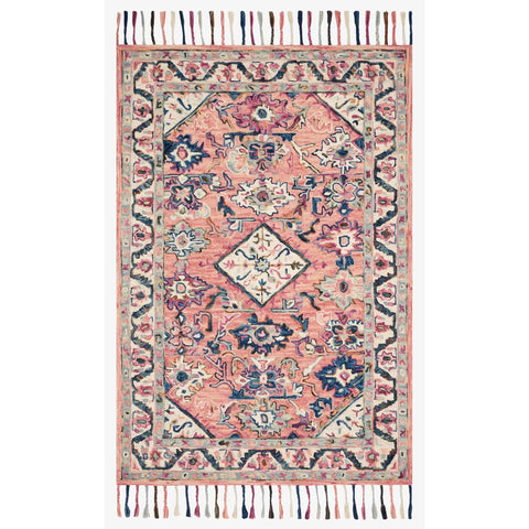 Elka Rugs by Loloi - ELK-04 - Pink / Multi