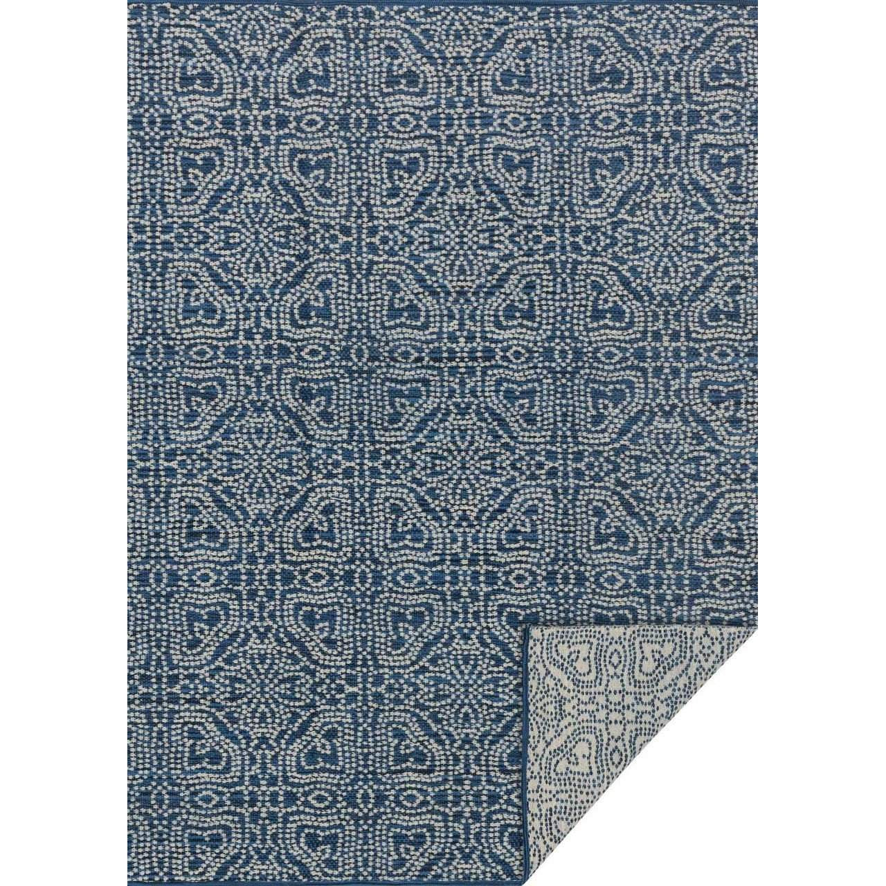 Joanna Gaines of Magnolia Home Emmie Kay Rug Collection - Navy / Cream