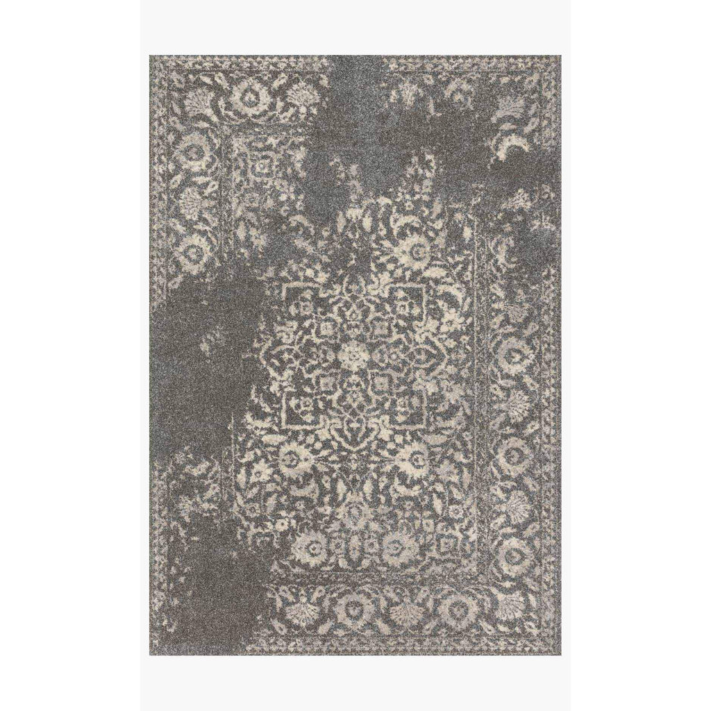 Emory Rugs by Loloi - EB-01 - Charcoal / Ivory-Loloi Rugs-Blue Hand Home