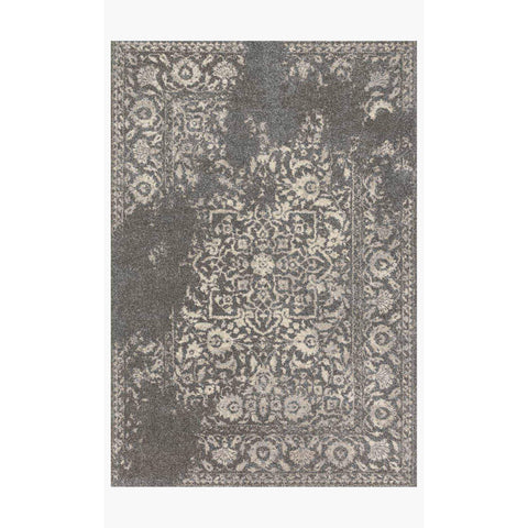 Emory Rugs by Loloi - EB-01 - Charcoal / Ivory