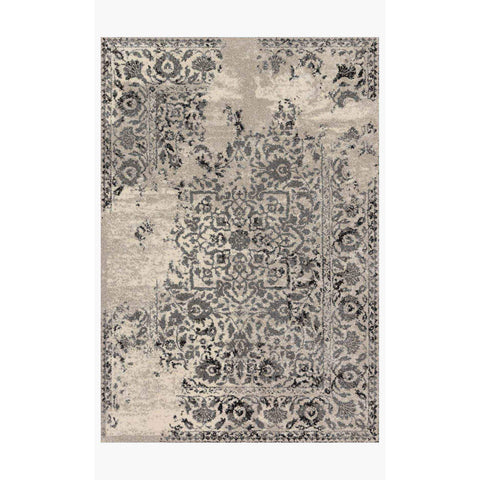 Emory Rugs by Loloi - EB-01 - Ivory / Charcoal