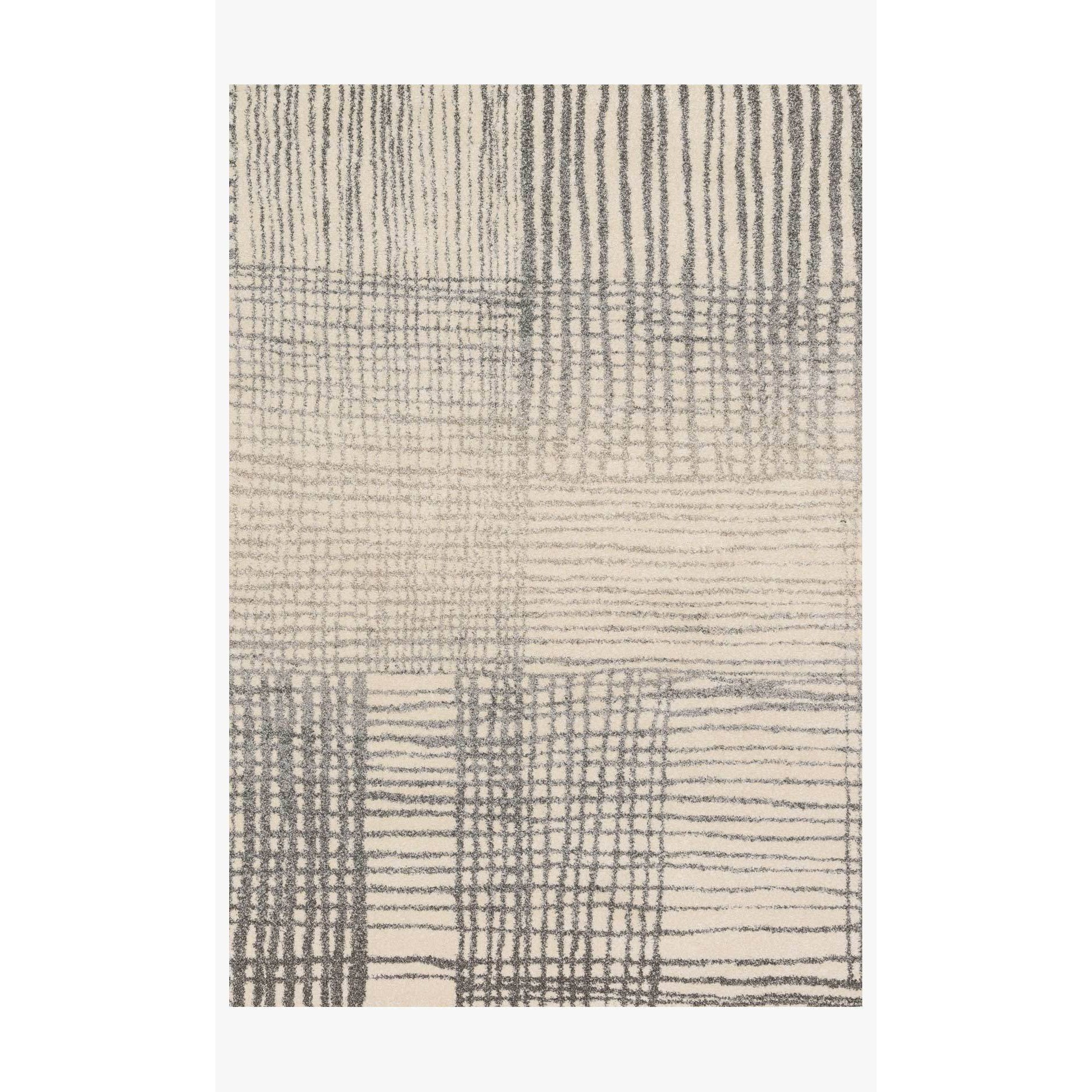 Emory Rug by Loloi Rugs - EB-05 - Ivory / Grey