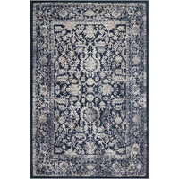 Joanna Gaines Everly Rug Collection - INDIGO/INDIGO-Loloi Rugs-Blue Hand Home