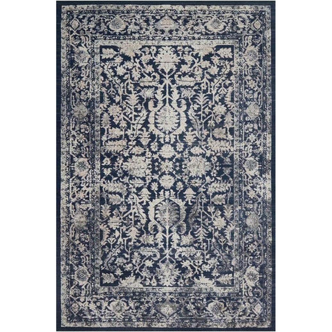 Joanna Gaines Everly Rug Collection - INDIGO/INDIGO