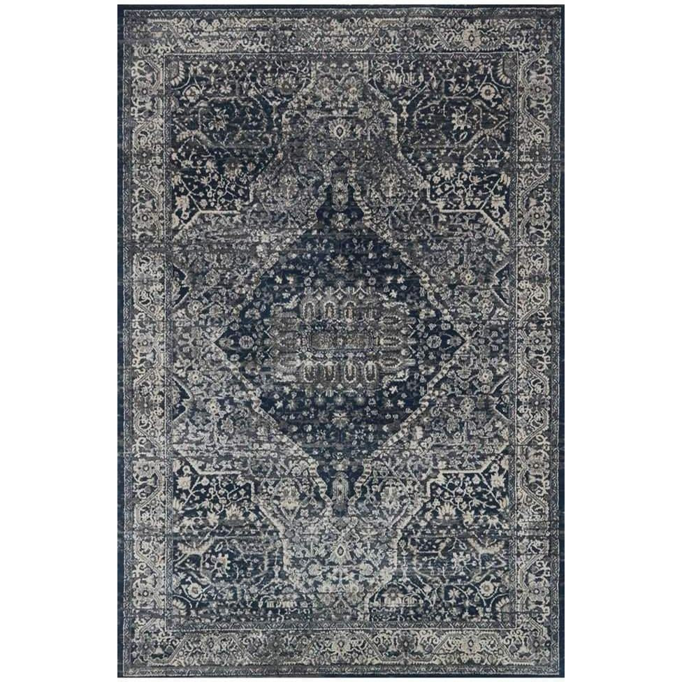 Joanna Gaines Everly Rug Collection - GREY/MIDNIGHT - Blue Hand Home