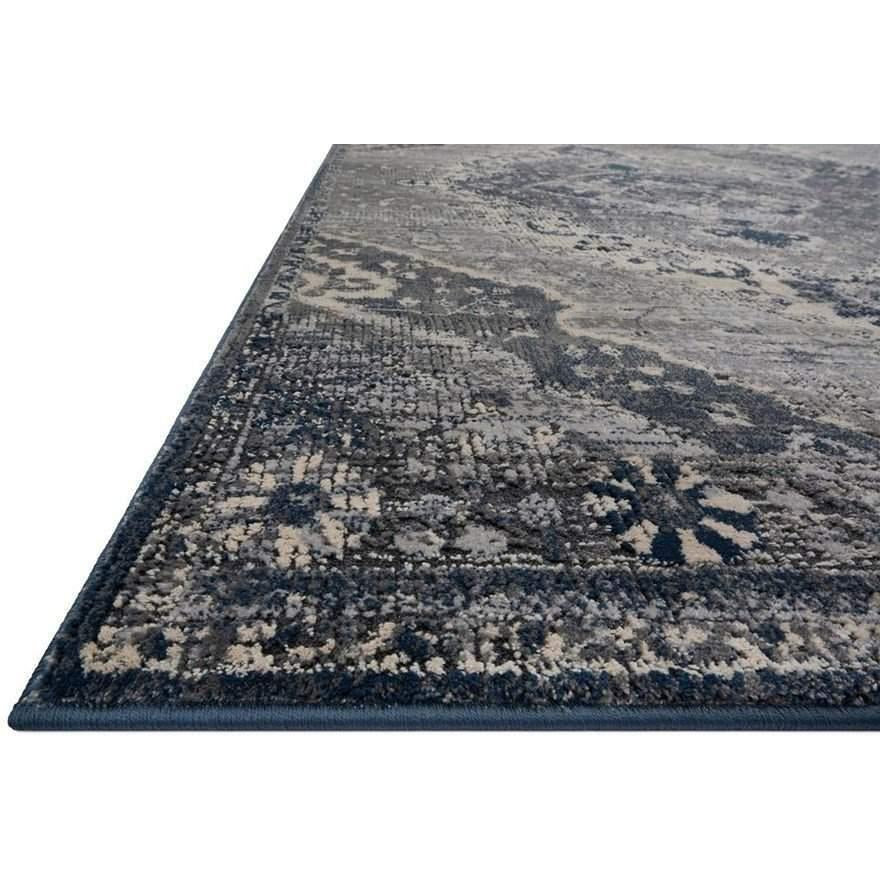 Joanna Gaines Everly Rug Collection - SILVER/GREY-Loloi Rugs-Blue Hand Home