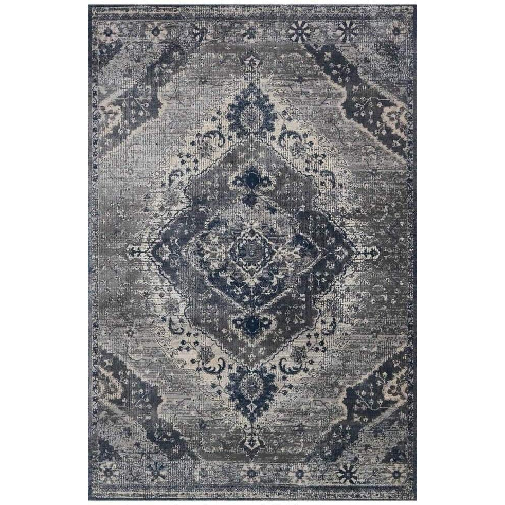 Joanna Gaines Everly Rug Collection - SILVER/GREY - Blue Hand Home