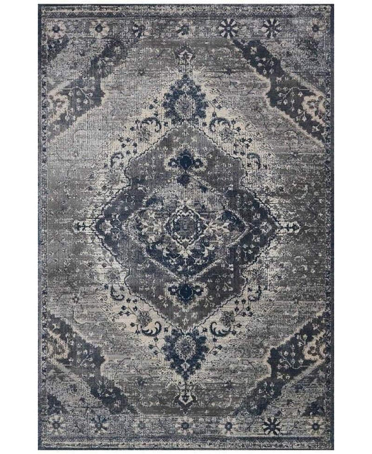 Joanna Gaines Everly Rug Collection - SILVER/GREY