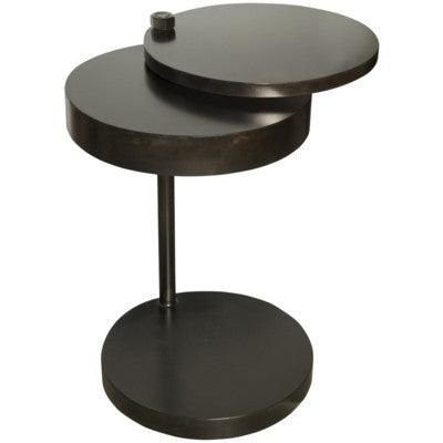 Noir Ebba Side Table, Metal