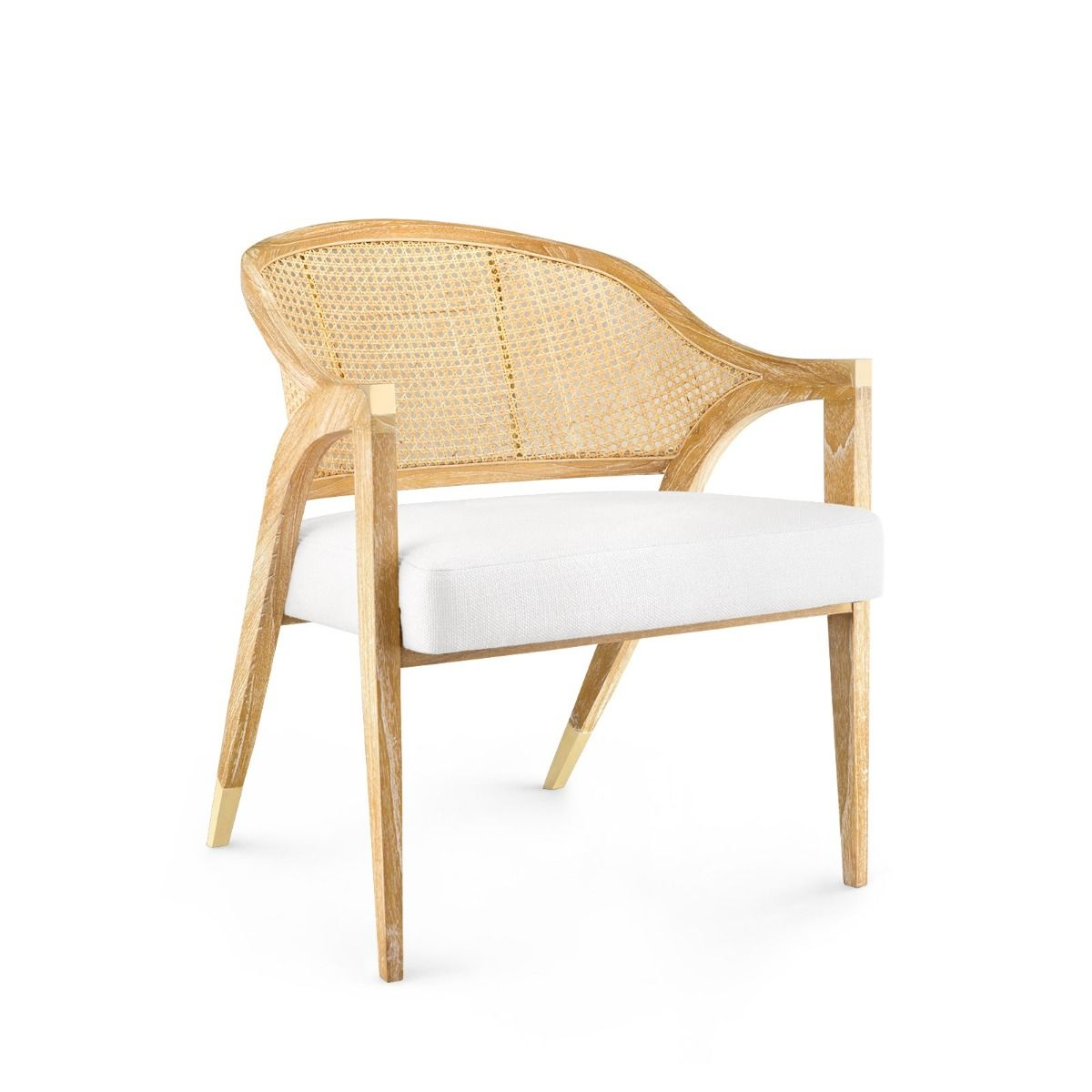 Bungalow 5 - EDWARD LOUNGE CHAIR, NATURAL