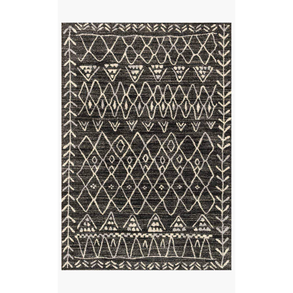 Emory Rugs by Loloi - EB-09 Black / Ivory-Loloi Rugs-Blue Hand Home