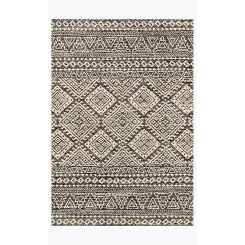 Emory Rugs by Loloi - EB-08 Graphite / Ivory